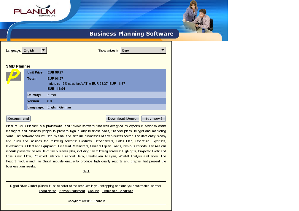Smb Planner Review