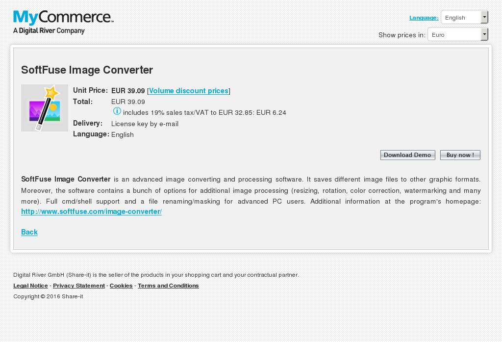 Softfuse Image Converter Howto