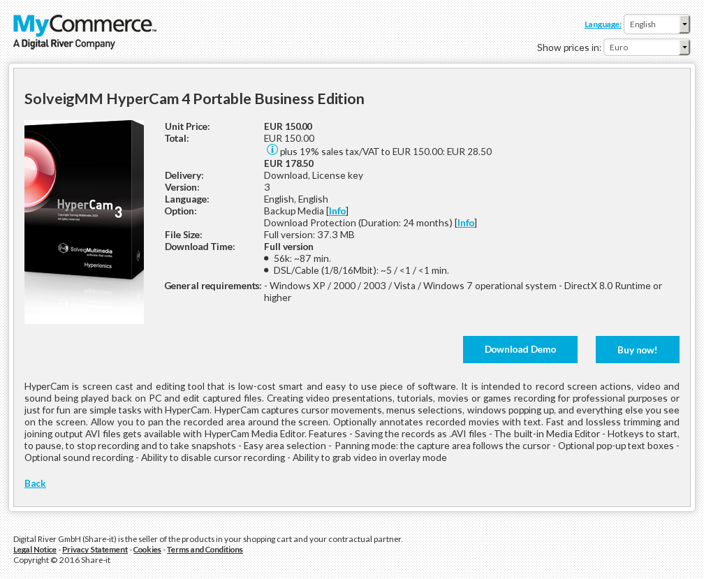 Solveigmm Hypercam Portable Business Edition Review