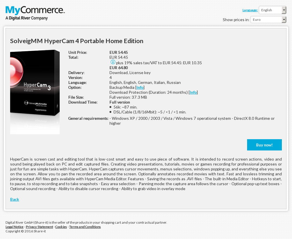 Solveigmm Hypercam Portable Home Edition Download