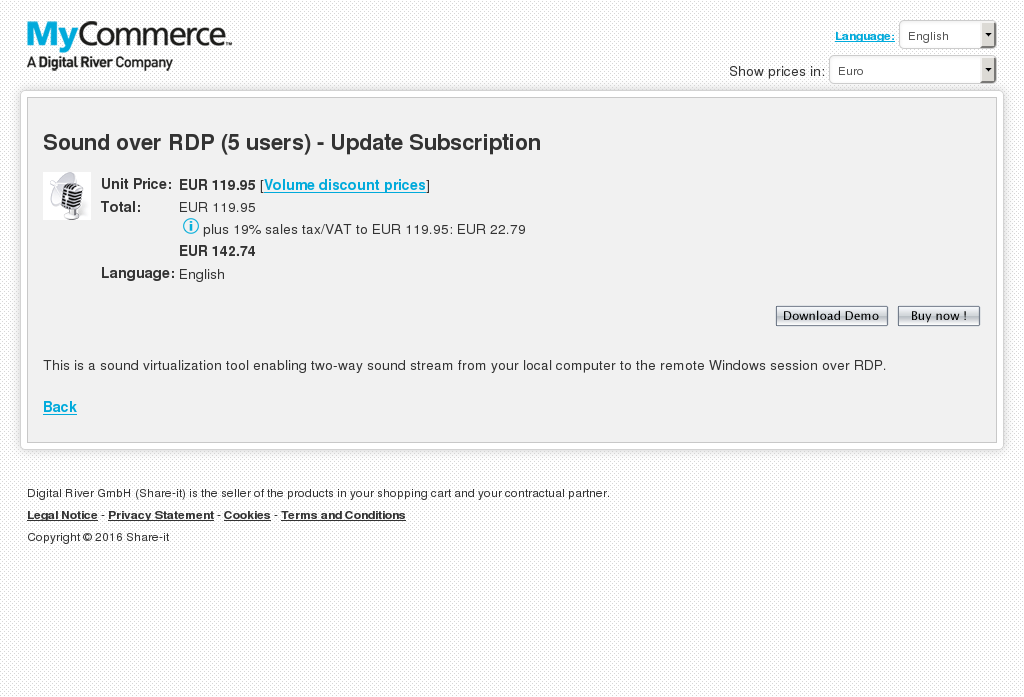 Sound Over Rdp Users Update Subscription Howto