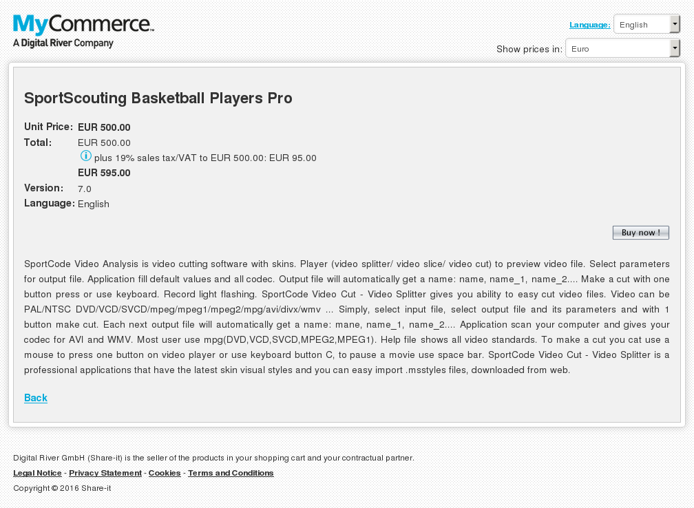 Sportscouting Basketball Players Pro Download
