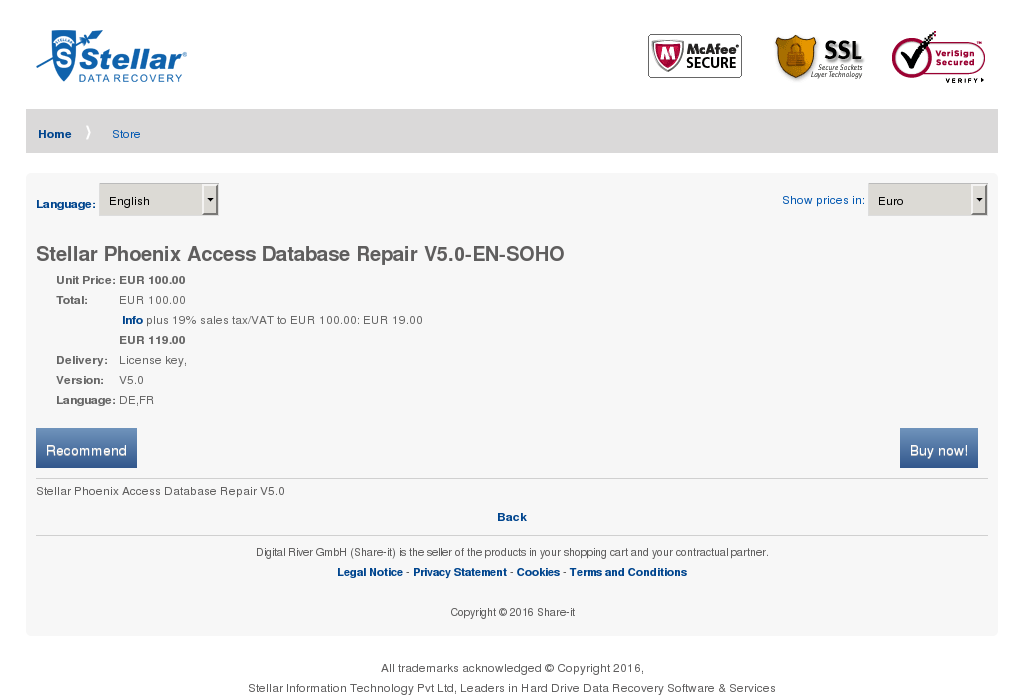 Stellar Phoenix Access Database Repair Soho Download