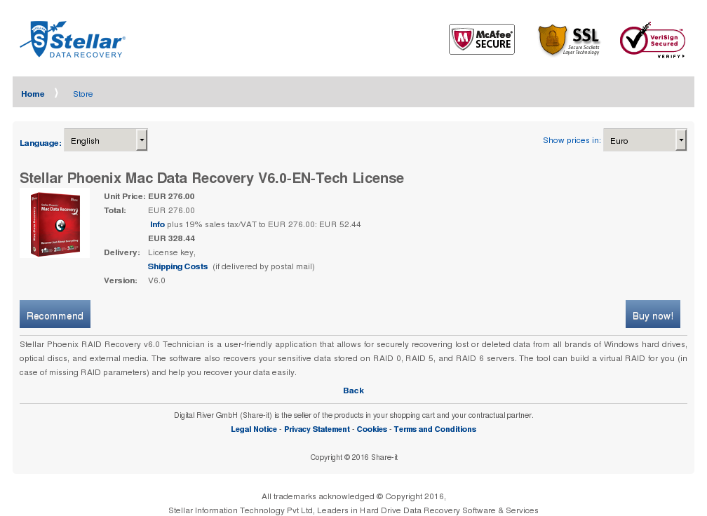 Stellar Phoenix Mac Data Recovery Tech License Howto