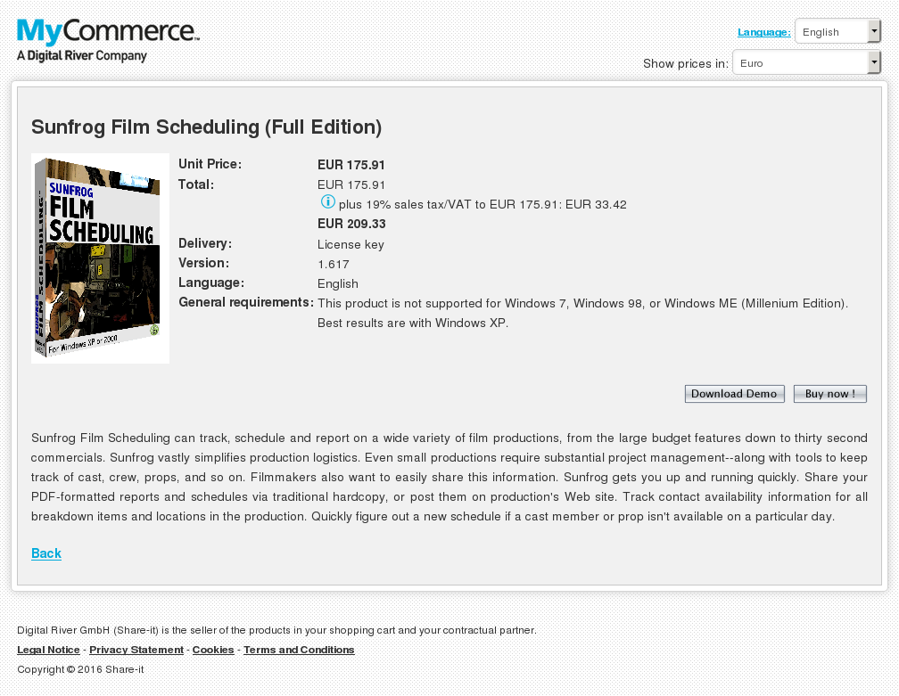Sunfrog Film Scheduling Full Edition Free