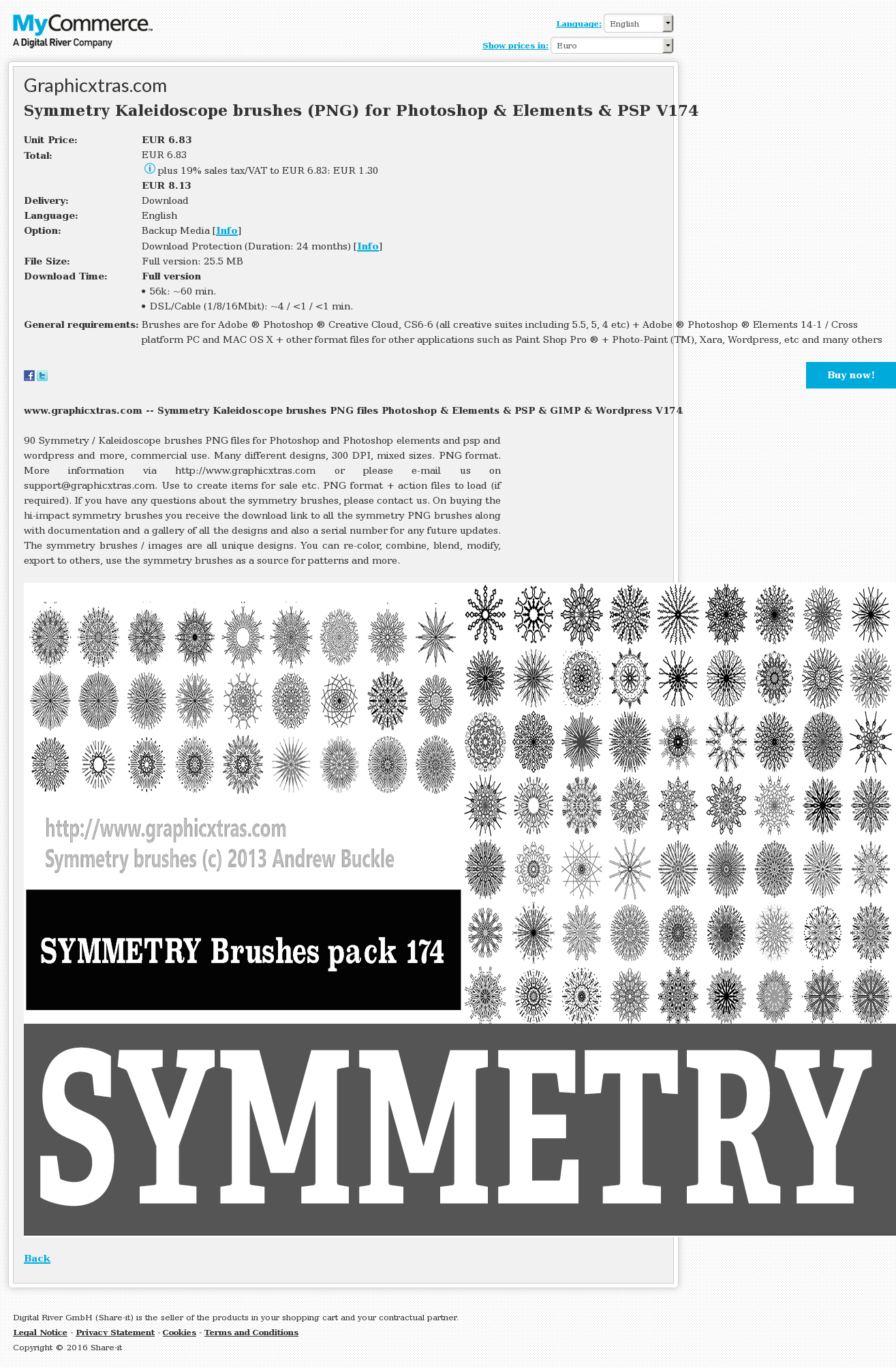 Symmetry Kaleidoscope Brushes Png Photoshop Elements Psp Review
