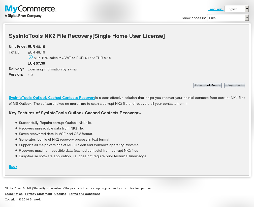 Sysinfotools File Recovery Single Home User License Review
