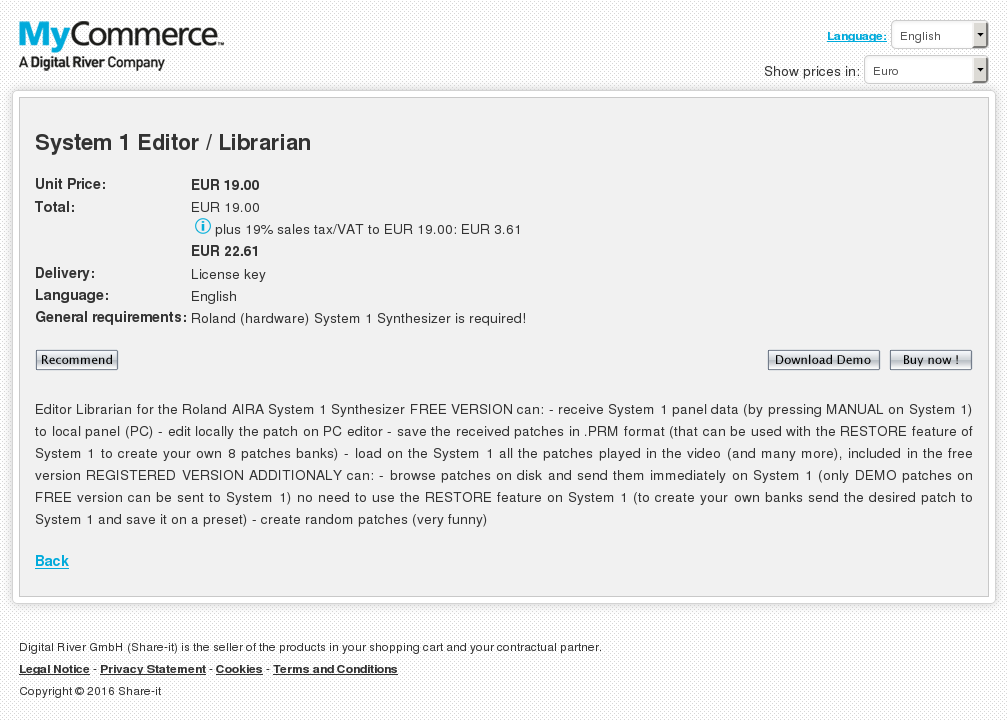 System Editor Librarian Review