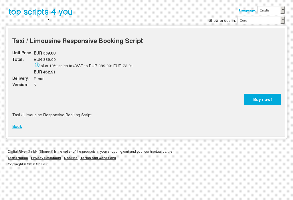 Taxi Limousine Responsive Booking Script Howto