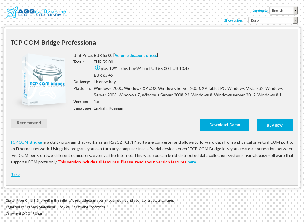 Tcp Com Bridge Professional
