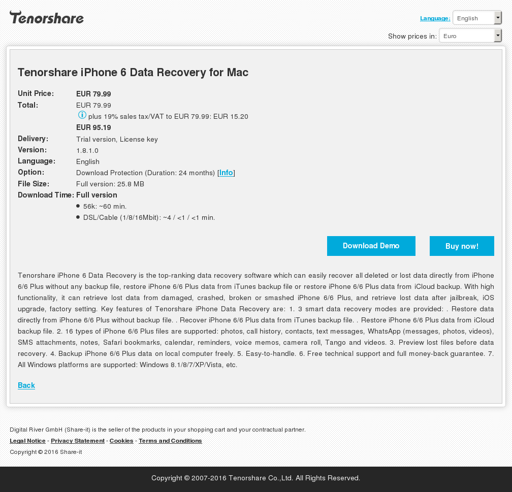 Tenorshare Iphone Data Recovery Mac Download