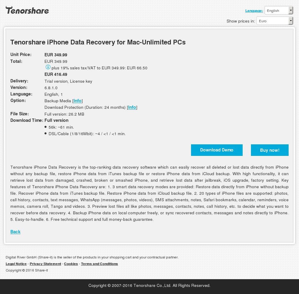 Tenorshare Iphone Data Recovery Mac Unlimited Pcs Review