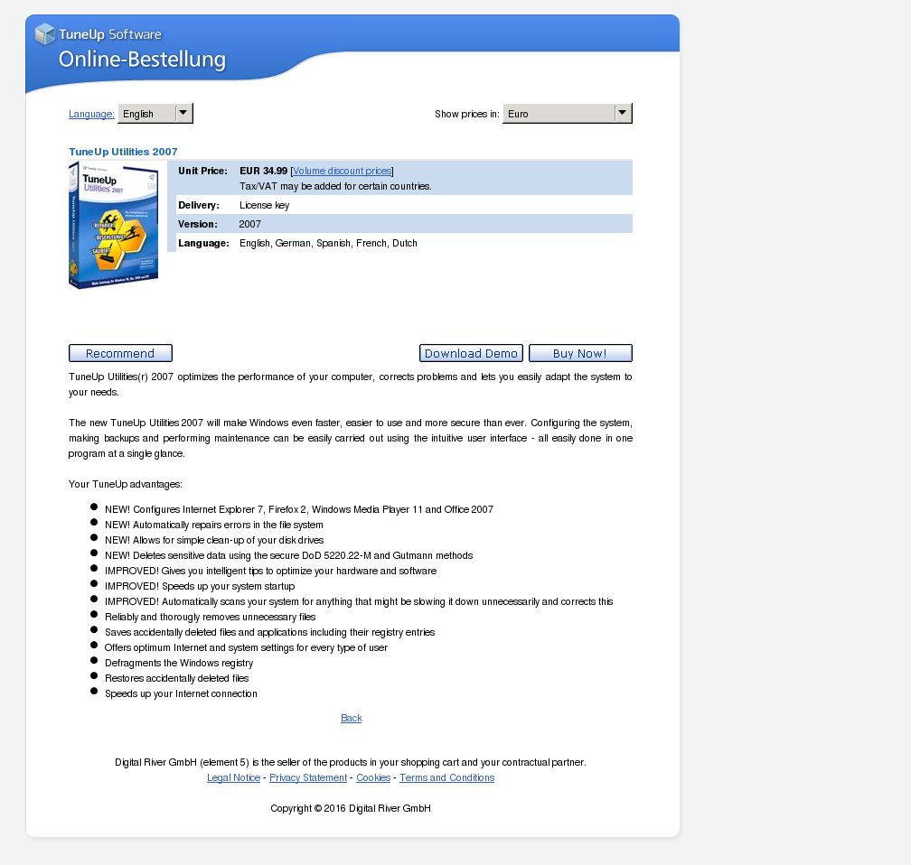 Tuneup Utilities Review