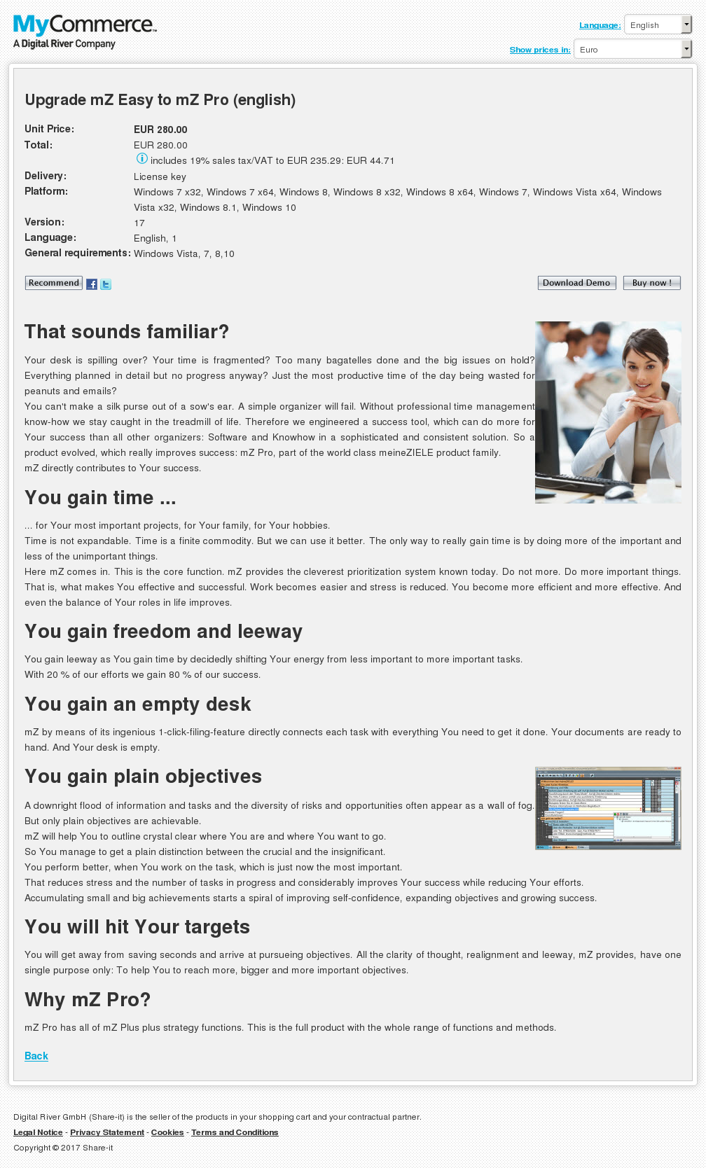 Upgrade Easy Pro English Download