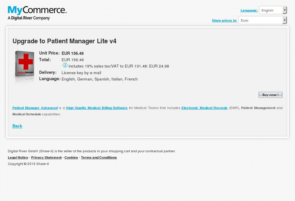 Upgrade Patient Manager Lite Howto