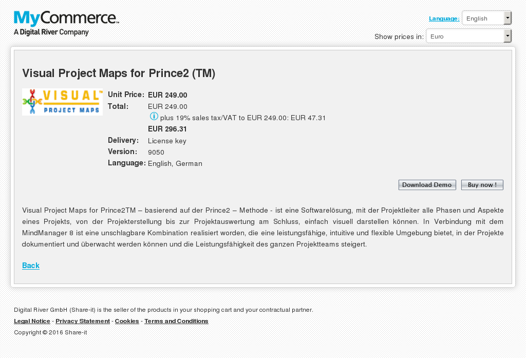 Visual Project Maps Prince Free