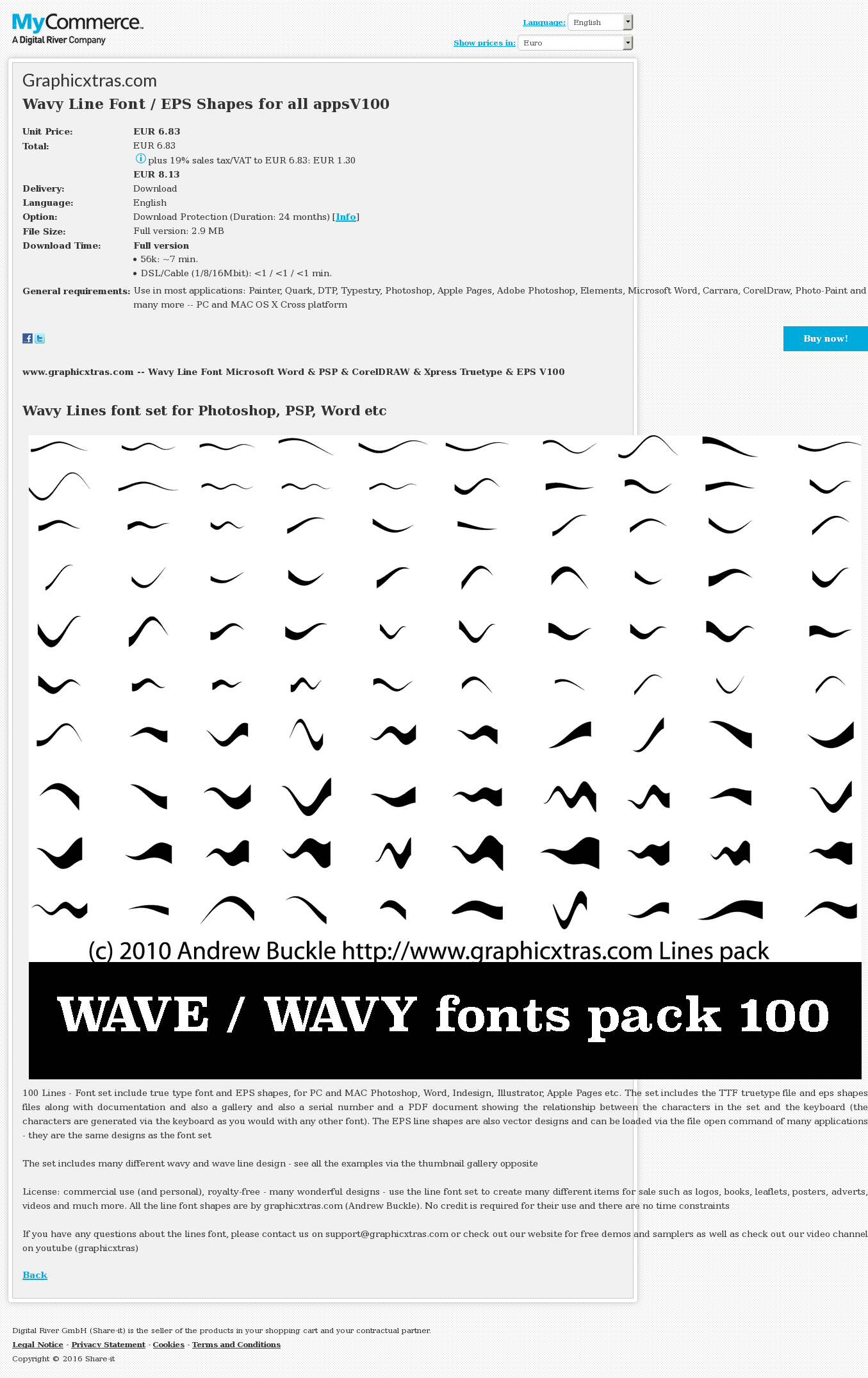 Wavy Line Font Eps Shapes All Appsv Alternative