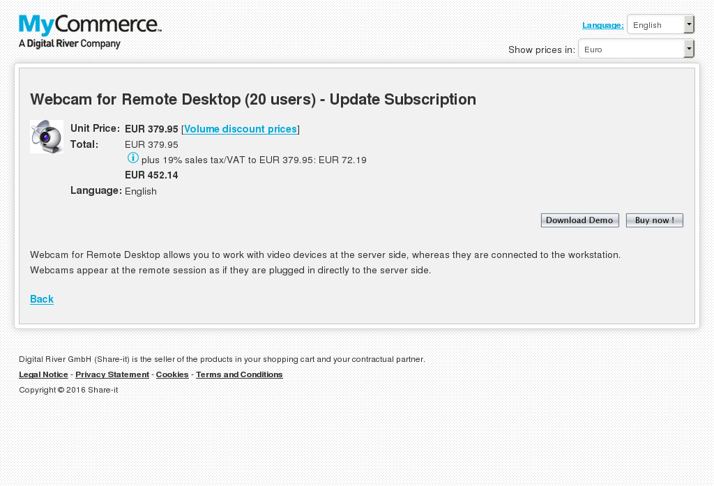 Webcam Remote Desktop Users Update Subscription Howto