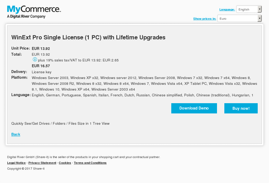 Winext Pro Single License With Lifetime Upgrades Howto