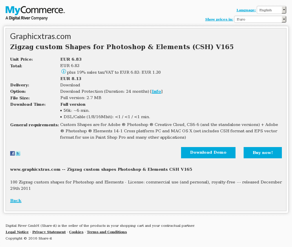 Zigzag Custom Shapes Photoshop Elements Csh Review