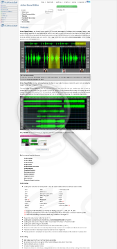 Active Sound Editor Commercial Edition Bundle With Audio For NET preview. Click for more details