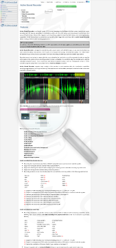 Active Sound Recorder Commercial Edition preview. Click for more details