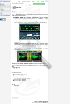 Active Sound Studio Commercial Edition In Bundle With Audio For NET preview. Click for more details