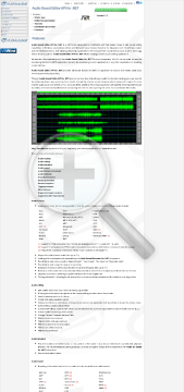Audio Sound Editor API For NET Commercial Edition Bundle With preview. Click for more details