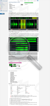 Audio Sound Editor For NET Commercial Edition Bundle With DJ Studio preview. Click for more details