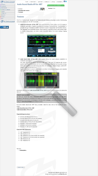 Audio Sound Studio API For NET Commercial Edition preview. Click for more details