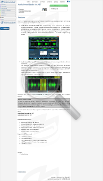 Audio Sound Studio For NET Commercial Edition Monthly Payment 5 preview. Click for more details