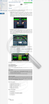 Audio Sound Suite API For NET Commercial Edition Bundle With preview. Click for more details