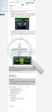 Audio Sound Suite For NET Compact Version Commercial Edition preview. Click for more details