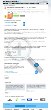 Email Validator For NET Late Renewal Premium Version 1 Company With Source Code Year Subscription preview. Click for more details