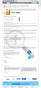 Email Validator For NET Premium Version 1 Company With Source Code Lifetime Subscription preview. Click for more details