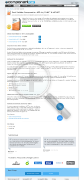 Email Validator For NET Standard Version 1 Developer No Source Code Year Subscription preview. Click for more details