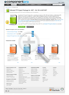 FTP Expert Package For NET Late Renewal Standard Version 1 Developer No Source Code Year Subscription preview. Click for more details