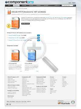 FTP Professional Bundle NET And Mobile Standard Version For 1 Company No Source Code Year Subscription preview. Click for more details