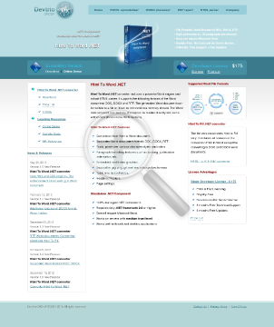 Html To Word NET PRO Developer License HtmlToWord And WordToHtml preview. Click for more details