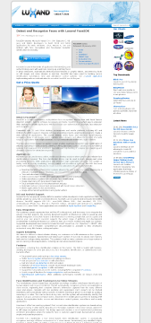 Luxand FaceSDK Basic License preview. Click for more details