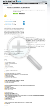 PDF Component For NET Early Renewal Standard Version 1 Developer No Source Code Year Subscription preview. Click for more details
