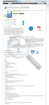 PDF Component For NET Late Renewal Standard Version 1 Developer No Source Code Year Subscription preview. Click for more details