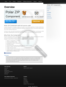 Polar ZIP Component 1 License preview. Click for more details