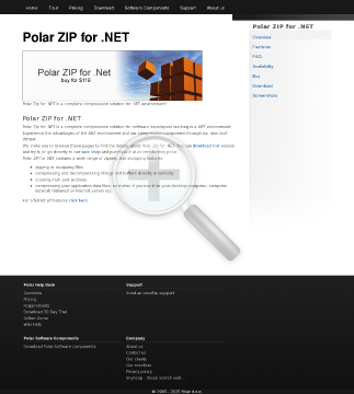 Polar ZIP For NET 1 License preview. Click for more details