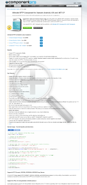 SFTP Component For Mobile Standard Version 1 Developer No Source Code Year Subscription preview. Click for more details