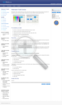 Webmaster's Toolkit 2 07 Default preview. Click for more details
