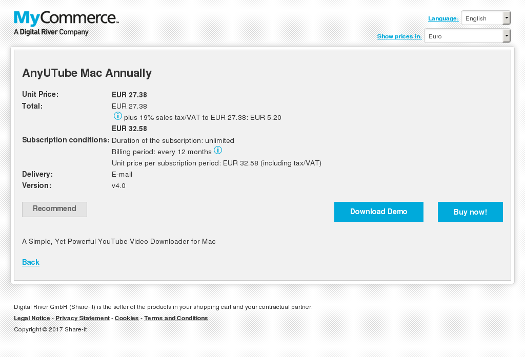 Anyutube Mac Annually Download