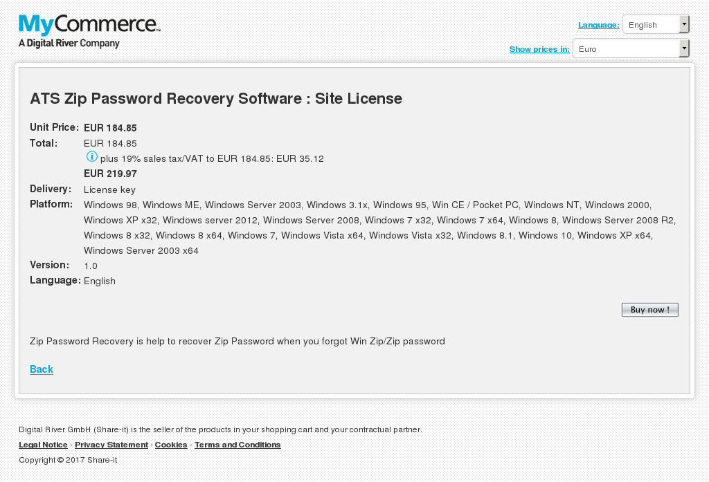 Ats Zip Password Recovery Software Site License Howto