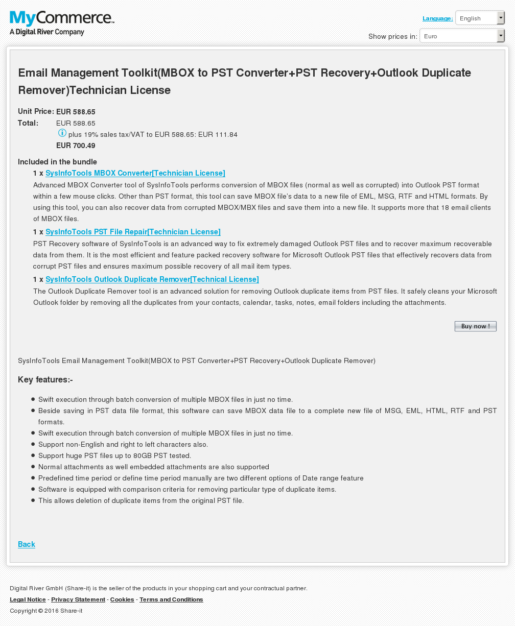 Email Management Toolkit Mbox Pst Converter Recovery Outlook Duplicate Remover Technician License Howto