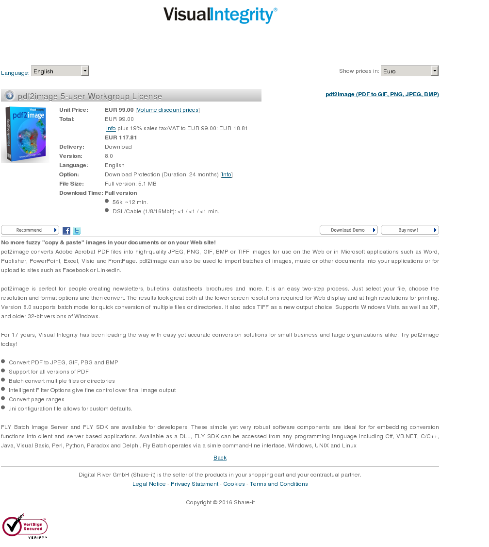 Pdfimage User Workgroup License Download